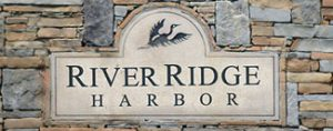 River Ridge Harbor logo linking to landing page for sidebar widget