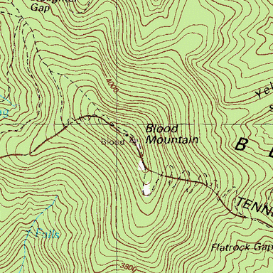 Land In Alabama Land In Georgia Tips To Bag A Mountain Gobbler - Georgia topographic map