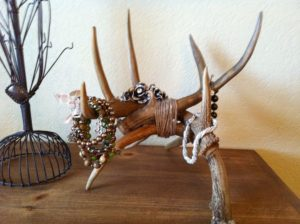 deer antler jewelry holder